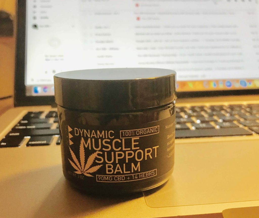 cbd balm for muscle fatigue