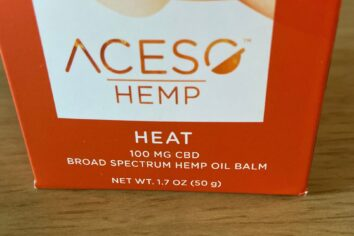 The Aceso Hemp Heat Balm for Quick Relief